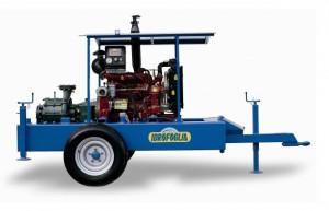 motopompa 2 - 4 cilindrii  pompa dubla
